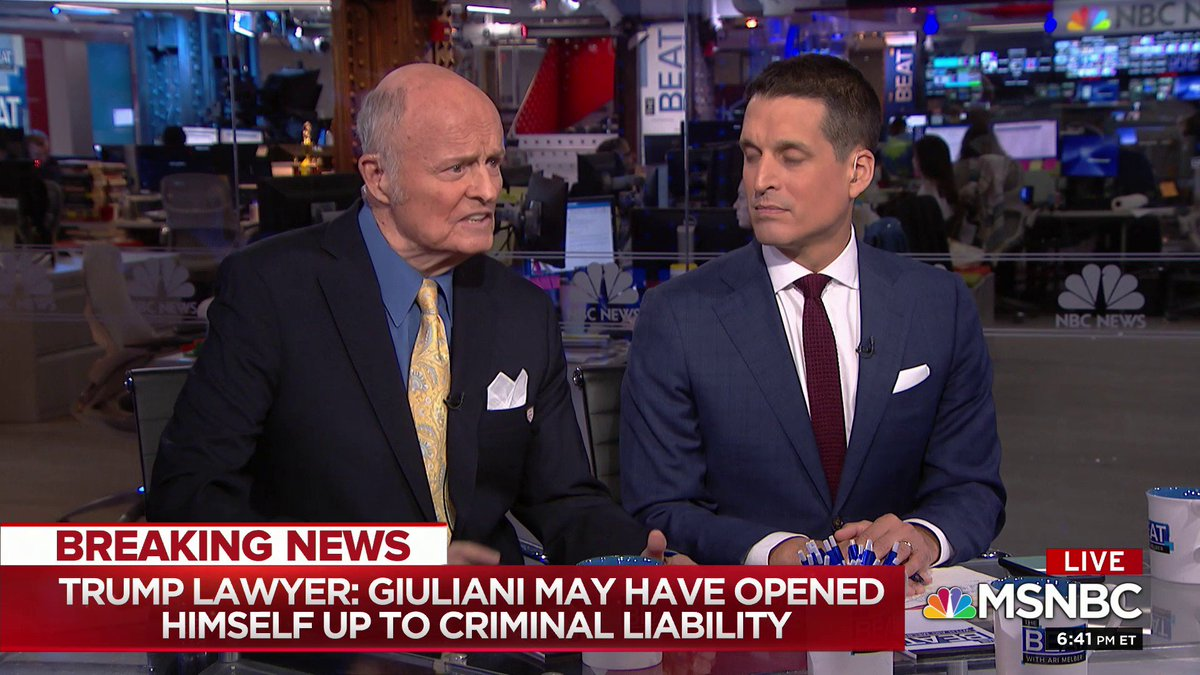 Former Trump lawyer Jay Goldberg says that he advised Trump not to hire Giuliani in March
