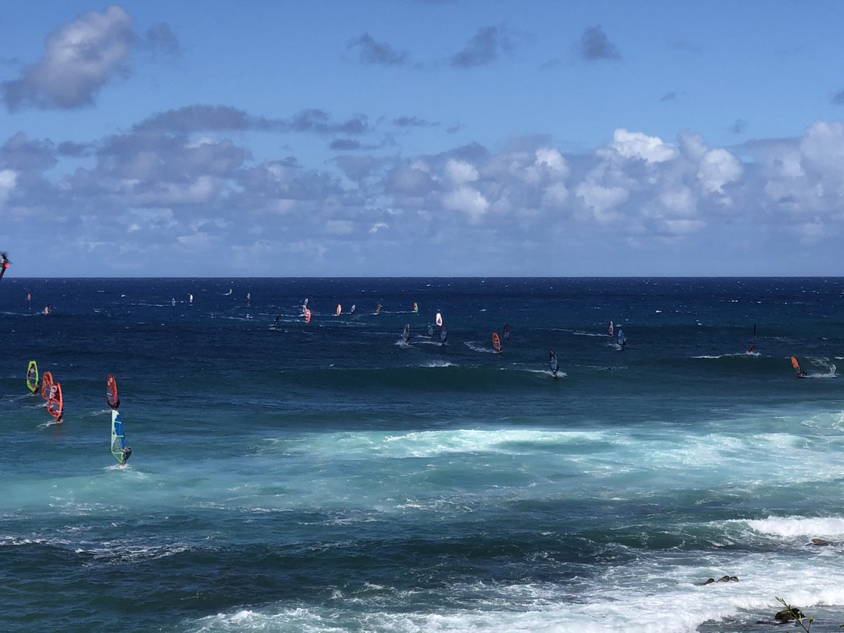 test Twitter Media - Windy at Ho'okipa. #cmweather #Maui #windsurf #Mauinokaoi https://t.co/x14SXinJ6N