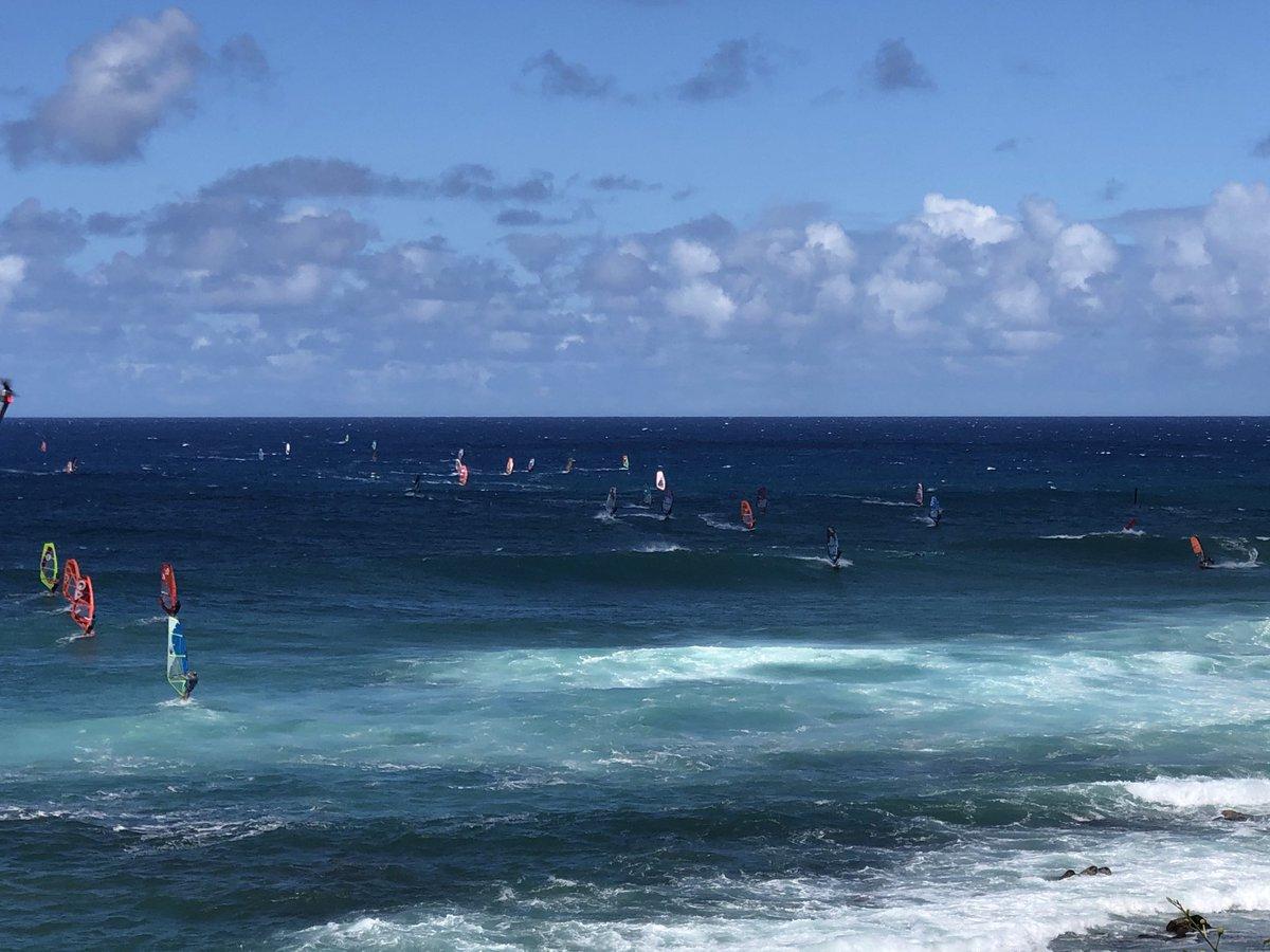 test Twitter Media - Windy at Ho'okipa. #cmweather #Maui #windsurf #Mauinokaoi https://t.co/x14SXinJ6N