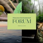 Image for the Tweet beginning: Register for the @Princeton Environmental