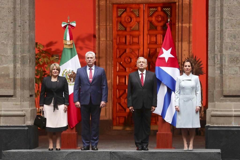 Enhorabuena Presidente, #Cuba y México naciones hermanas. 🇨🇺🇲🇽  ¡Viva Cuba! ¡Viva México! ¡Viva el mejor presidente de México! #EsUnHonorEstarConObrador #AMLOLujoDePresidente #AmloEresÚnico