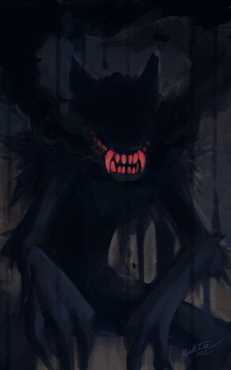 Fiendish #wolf #monster #digitalart <br>http://pic.twitter.com/P2LIvn3BDT