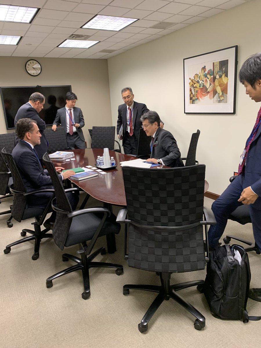 6. Tuve una reunión con directivos del JBIC, que es el Banco Japonés de Cooperación Internacional.