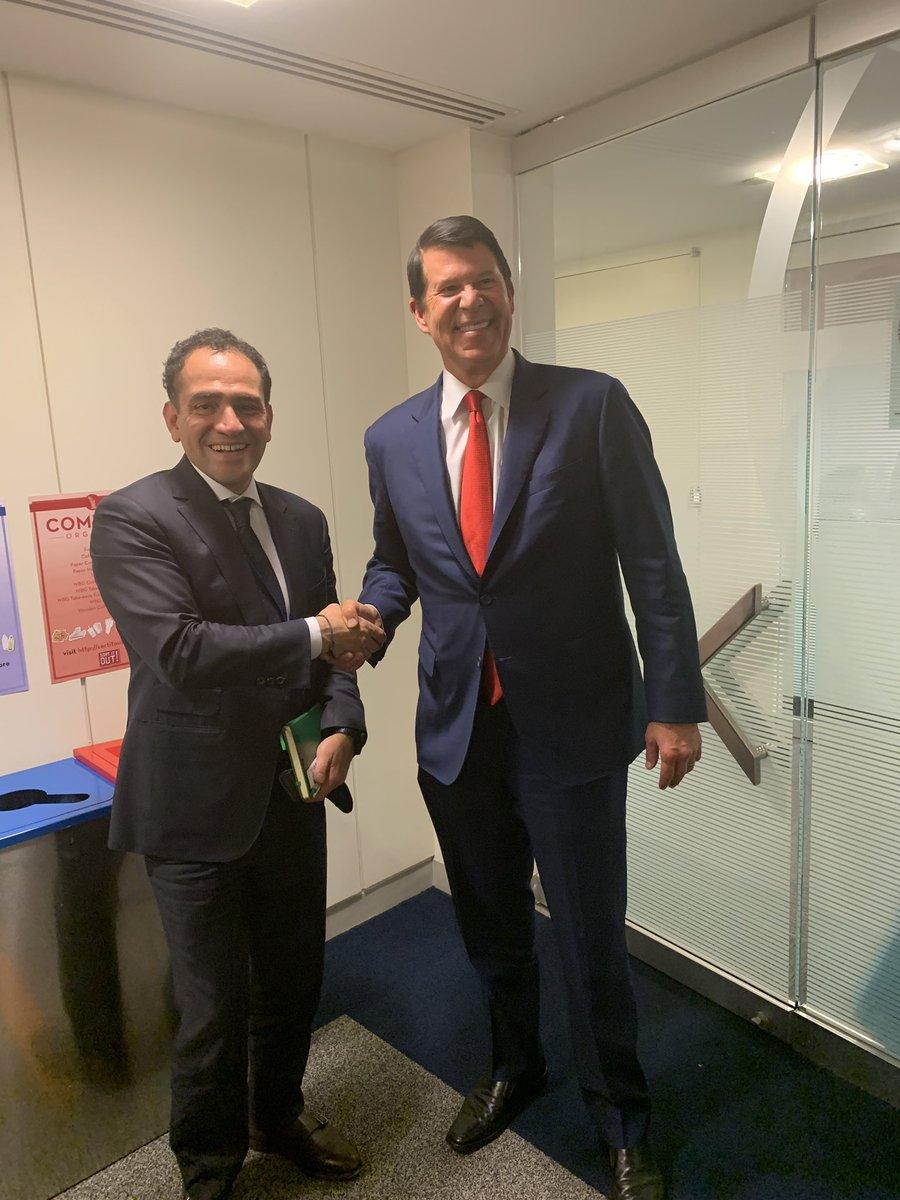 7. Tuve una reunión con el Subsecretario del Departamento de Estado para el Crecimiento Económico, Energía y Medio Ambiente, de EUA. 8. Entrevista con Milenio.