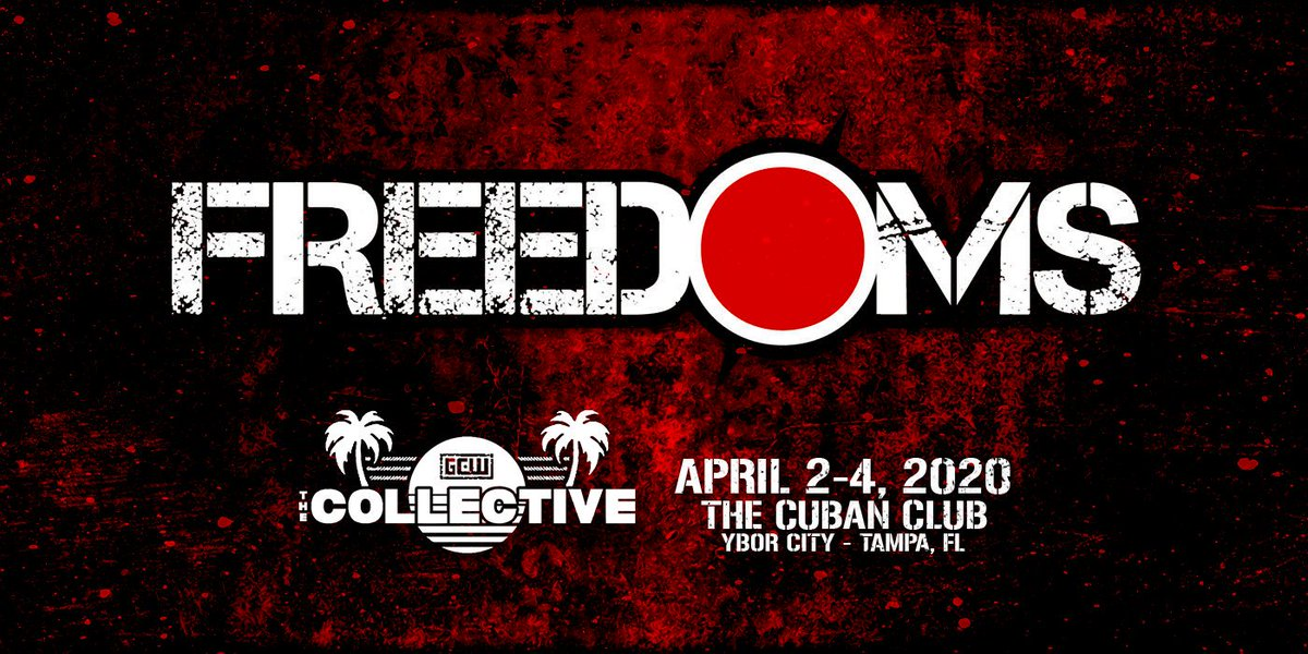 Breaking:  GCW is proud to welcome @PW_FREEDOMS to the United States and #TheCollective for the 1st Time in April 2020!  🇯🇵🇺🇸 #JapaneseDeathmatch https://t.co/EzWfOLFvLW