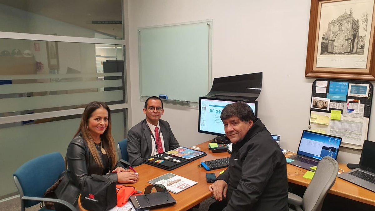 La #DGVIN sostuvo una reunión con @3Mmexico, con la intención de fortalecer la cultura de la #Prevención y de #ProtecciónCivil con acciones coordinadas para salvaguardar la vida e integridad de las personas.