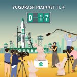 Image for the Tweet beginning: 🚀YGGDRASH MainNet D-17🚀  Join the airdrop