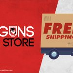 Image for the Tweet beginning: Enjoy free shipping on all