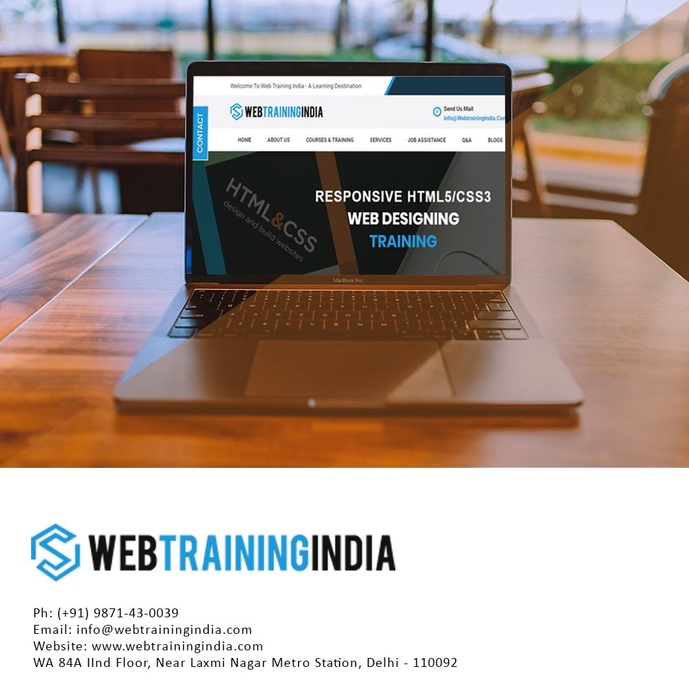 Web Designing Courses Delhi - HTML5 Classes CSS3 Training Bootstrap Institute in Delhi  Need to learn web design with html5, css3 & bootstrap? Get started website designing courses with live projects by web design training.   http://www. webtrainingindia.com/web-design-cou rses-delhi.html   …  #webdevelopment #webdesigner<br>http://pic.twitter.com/mCIxTu9FNA