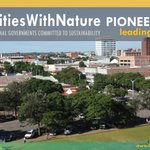 Image for the Tweet beginning: #CitiesWithNature #LeadingTheWay on mainstreaming #nature