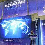 Image for the Tweet beginning: Hdac Technology at Blockchain Seoul