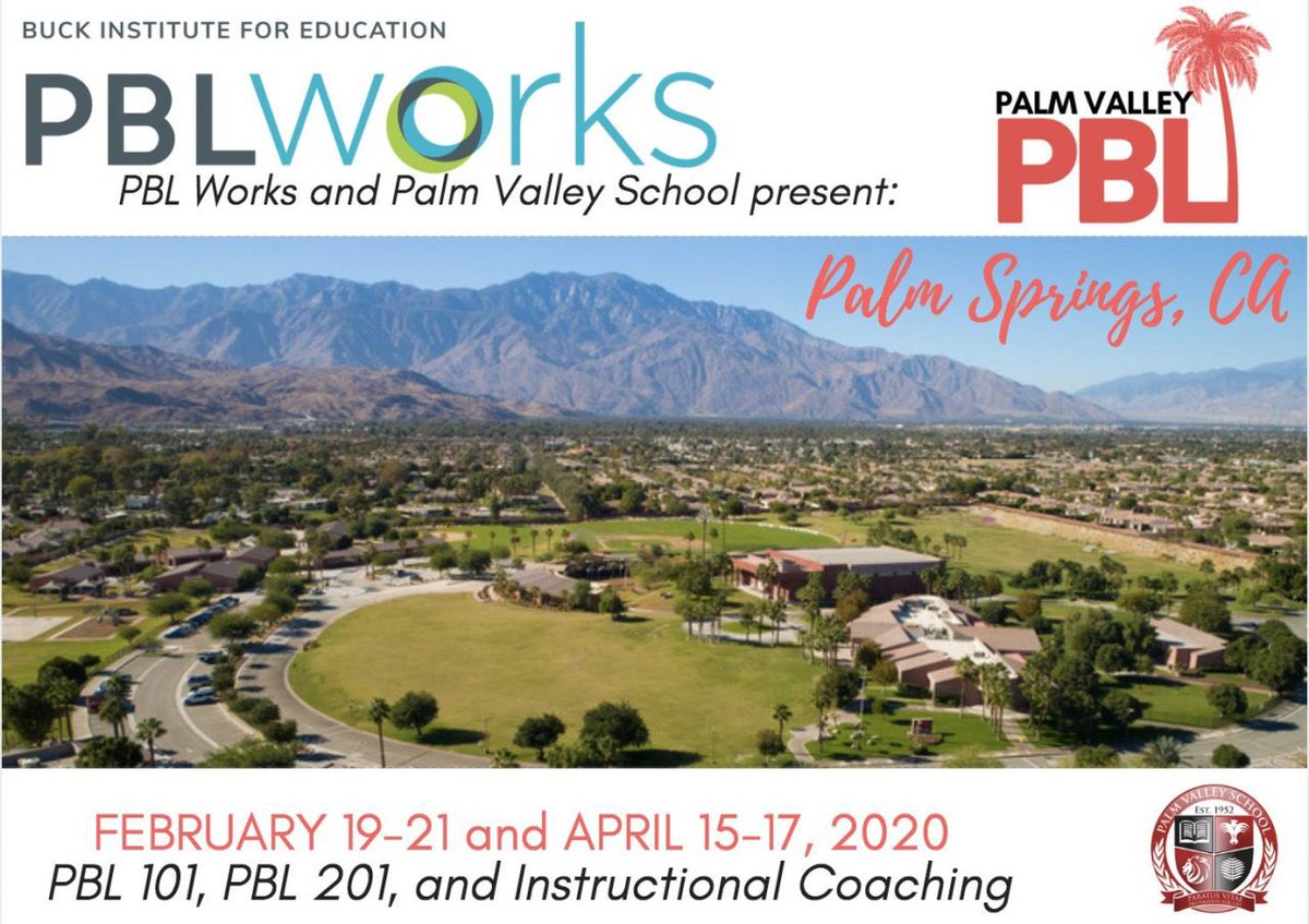 Come join us! #PBLchat #PalmValleyPBL #PBL pvs.org/community/prof…