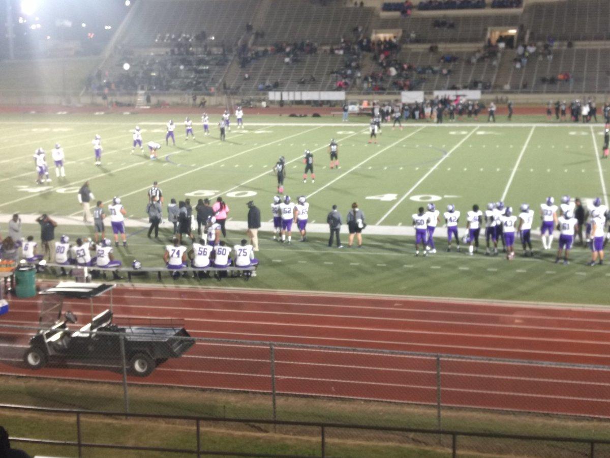 Thursday night Texas High School Football from Clark Stadium in Fort Worth. South Hills hosting Crowley.