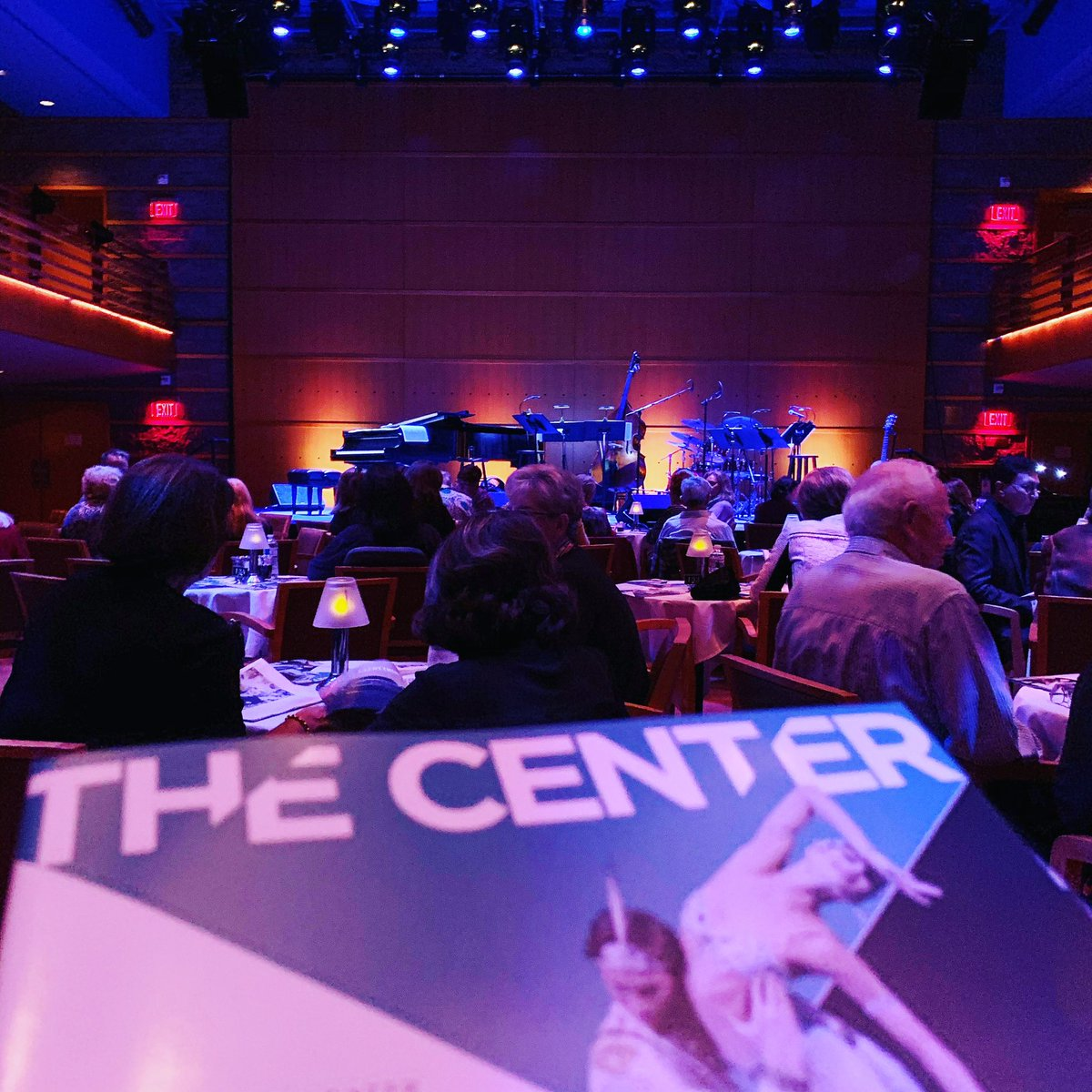 Tonight's assignment: #OpeningNight of @BettyBuckley's #Cabaret at @SegerstromArts!!! Happy to see her since my friend Philip and I missed her in #HelloDolly!! 🎭#broadway #musicals #theatre