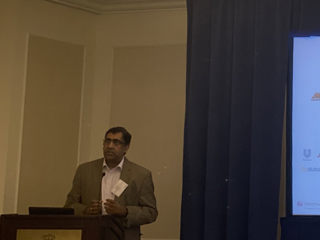 """""""Training data is the new oil!"""" - Sreedhar B (SVP & Global Head - Digital Business at @Mindtree_Ltd) speaking at the exclusive @Zinnov roundtable in New York #AI #digital #zinnov"""