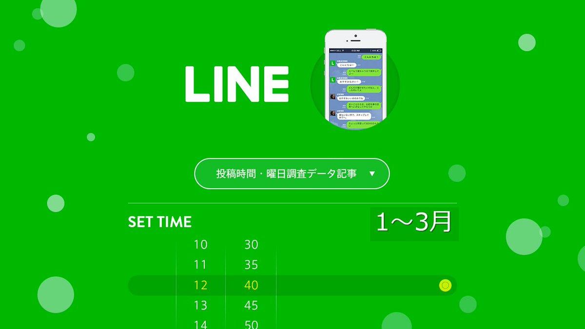 【人気記事】【最新版】LINE(ライン)の最適な投稿時間と頻度は? 3か月、全290アカウント・3040投稿を徹底分析!