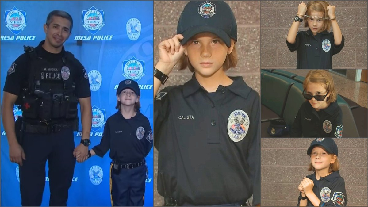 Meet @MesaPD s newest junior officer and see how one mans #RandomActOfKindness  made her day. #GoodNews   http://bit.ly/2IZNoX2