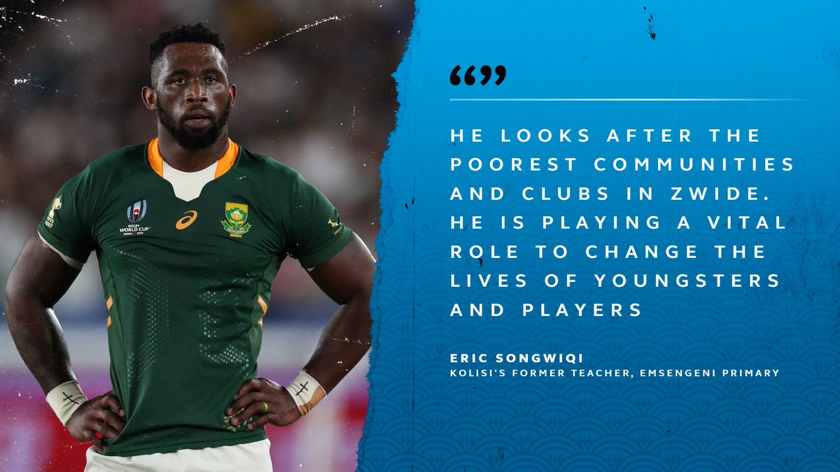 test Twitter Media - Siya Kolisi's inspiration extends way beyond rugby.  We caught up with his former primary school teacher, to find out how he is helping within the community:   https://t.co/xkSDmaZ8vp   #RWC2019 https://t.co/TIbeag18P0