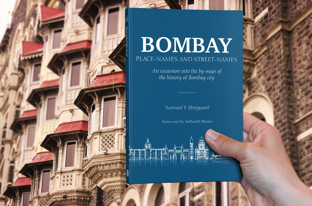 Grab your copy here  https://www.indussource.com/product/bombay-place-names-and-street-names/  …  #book  #bombay  #mumbai  #street  #jacobcircle  #breachcandy  #india  #colonial  #britishcolonial  #british  #indussource  #indus  #experience  #life   #Photography  #bookoftheday  #bestseller  #business  #work  #office  #success  #inspiration  #life  #love