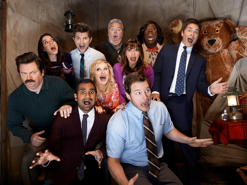 #ThrowbackThursday  #comedy  #televison  Cast of Parks and Recreation.