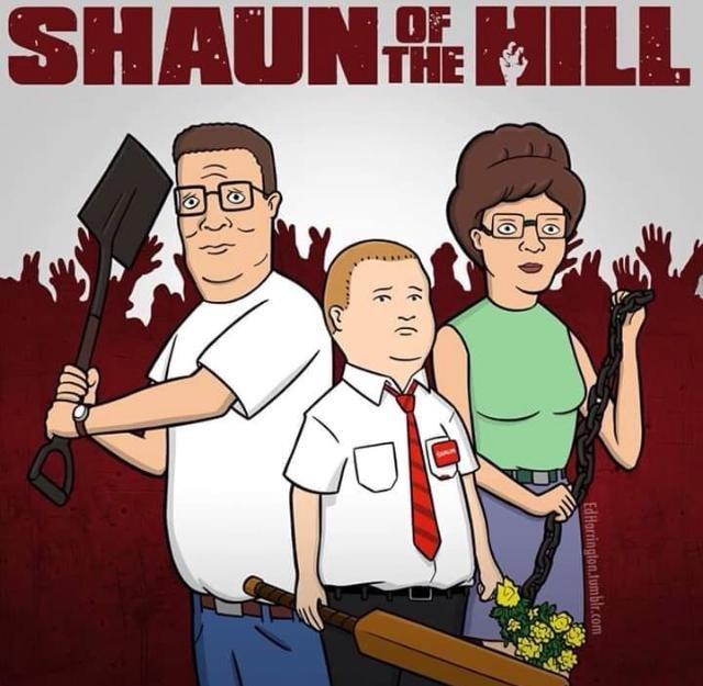 #HorrorMovies  #horrorart  #comedy  King of the Hill parody. 🧟♂️