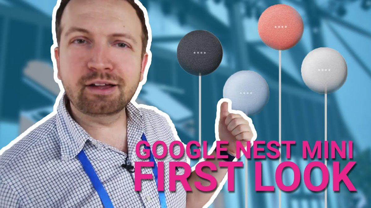 Google Nest Mini 2019 first look -  https://www.comedyfeed.co.uk/?p=59497   #TechRadar  #comedy