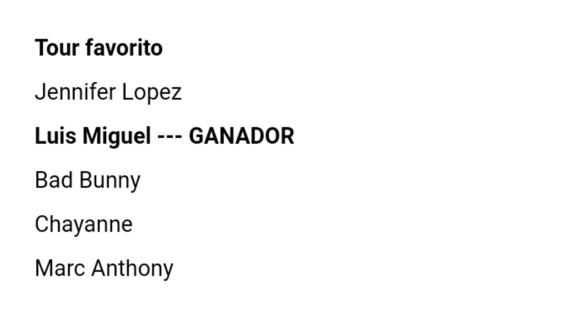 Felicidades a #LuisMigueltour @LMXLM @WarnerMusicArg @andredlanus @alepromero2012 @LatinAMAspic.twitter.com/yCchWKCbjW