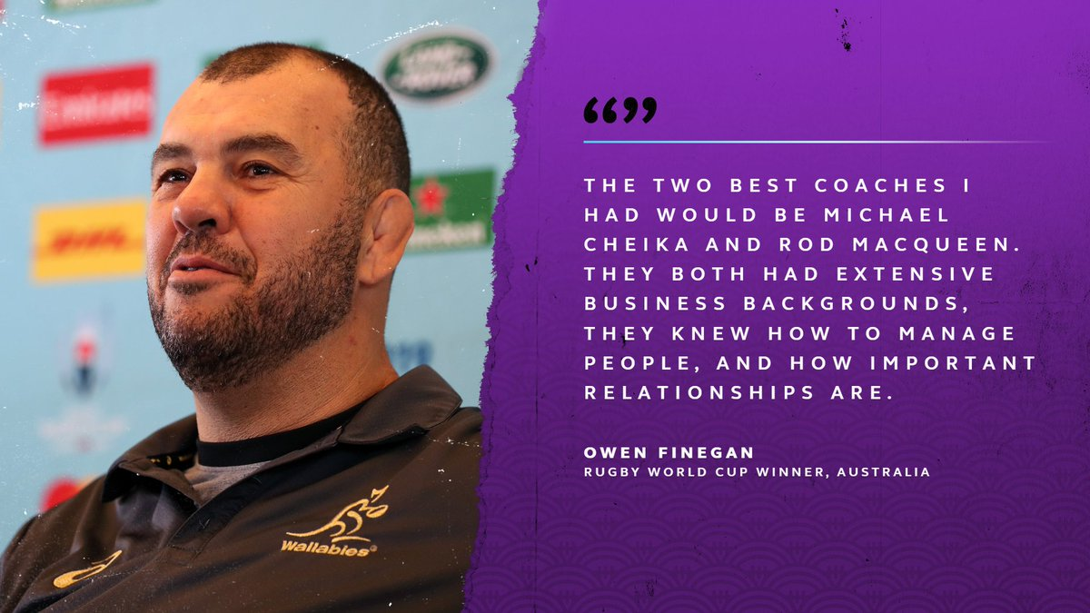 test Twitter Media - Rugby World Cup 1999 winner Owen Finegan on @wallabies coach Michael Cheika, who he has played both with and for:   https://t.co/0a8KF1KEDr  #RWC2019 #ENGvAUS https://t.co/OIDG6ZjDU1