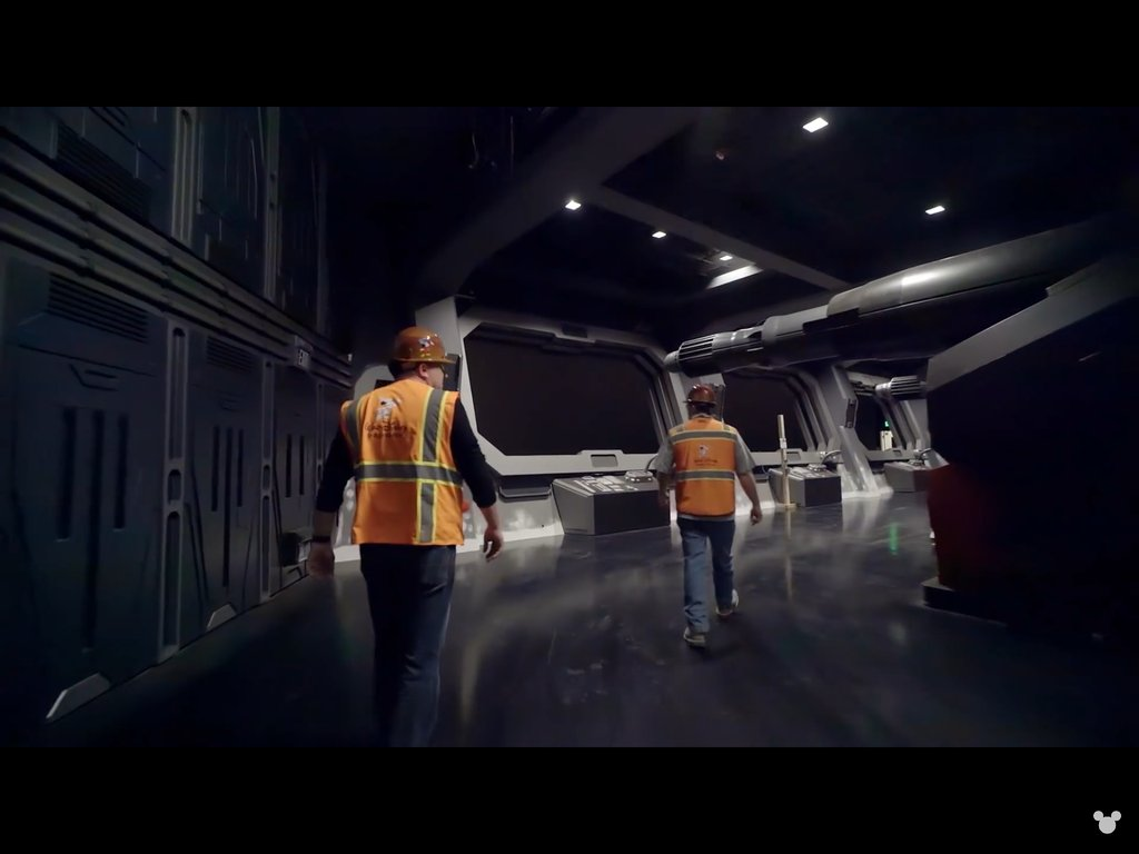 Disney+ title 'The Imagineering Story' shows more Rise of the Resistance show scenes. #SWGalaxysEdge #GalaxysEdge #StarWars