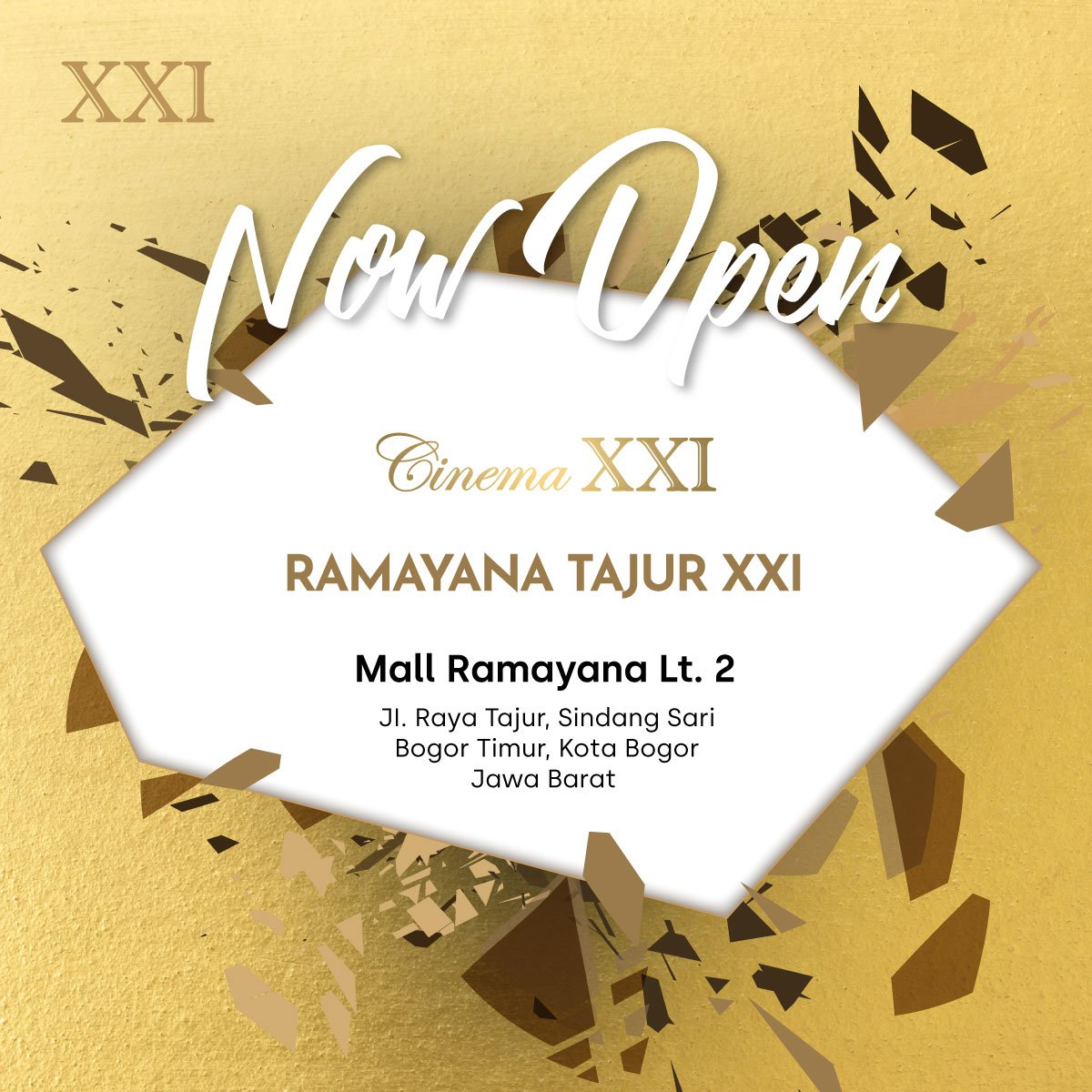 Jadwal bioskop xxi ramayana cirebon