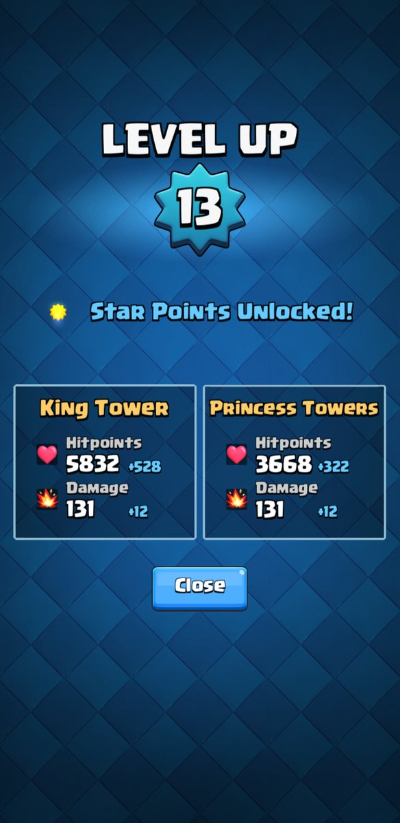 @CWA Can I get a like for finally reaching level 13 as a free to play? (Excluding pass royale)