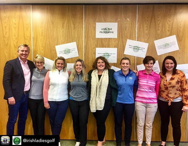 Repost from @irishladiesgolf using @RepostRegramApp - Yesterday was the launch of the #LevelPar Scholarship. These six @thepga Professionals will spend the next 20 months developing their coaching skills and showcasing the role of a female PGA Profession… ift.tt/2MWiAYe
