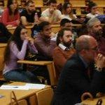 Image for the Tweet beginning: En @urjc #Móstoles presentando el