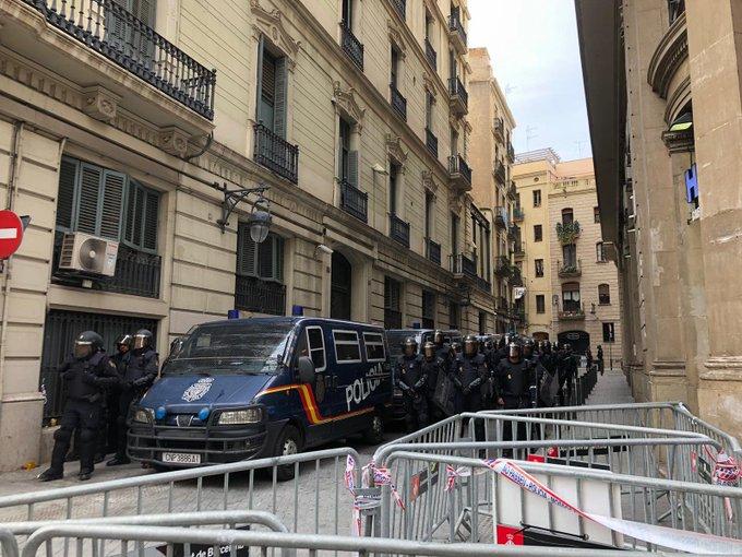 police barcelone