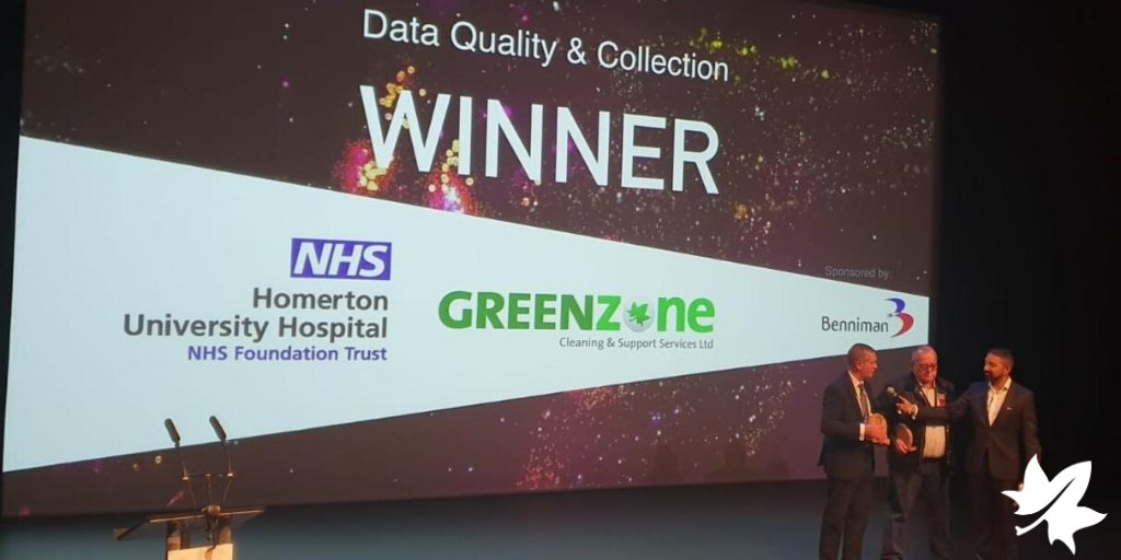 Congratulations to our clients @GreenZoneCSS on their award for Data Quality & Collection for their work in #sustainability from @ThePlanetMark