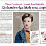 Image for the Tweet beginning: #revuedepresse L'#HôtelLittéraire Arthur Rimbaud à l'honneur