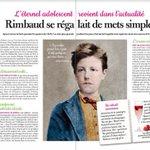 Image for the Tweet beginning: #revuedepresse L'#HôtelLittéraire Arthur Rimbaud à l'honneur