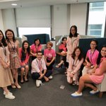 Image for the Tweet beginning: #CognitaWay #StamfordHK Pink Languages Team😀