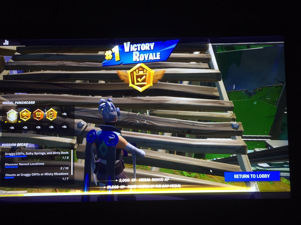 Just won the first game I ever played in season 1 chapter 2! (Except the pregame) #firstwinofseason11 #firstgameeverplayedinchapter2 @OgCamii (I am in school rn) #lookingforaclan #lookingforafortniteclan #Tryingtobethenextbigthingpic.twitter.com/PoHMJXnx33