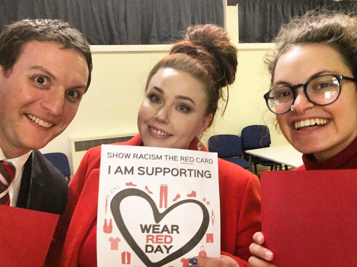 The North West Team support #WRD19. Monday made it clear we need to continually show racism the red card! That is why we envision a society safe from prejudice and discrimination. #ShowRacismTheRedCard #annefrank90 <br>http://pic.twitter.com/9VfBHr8NUh