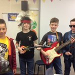 Image for the Tweet beginning: Pupils rocked up today as