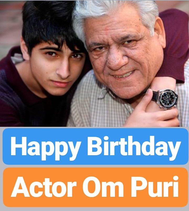 Happy Birthday  Om Puri