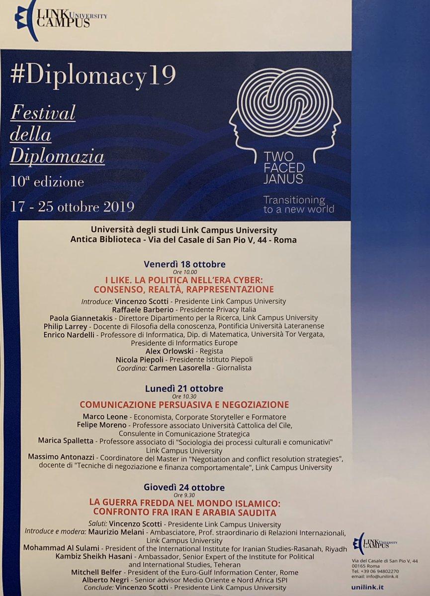 #FestivalDellaDiplomazia