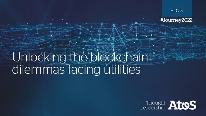 #Blockchain has much to offer to #utilities but it also brings with it new...