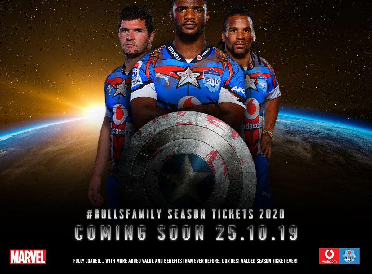 #BullsFamily SEASON TICKETS 2020. On sale 25 October 2019. Fully loaded, with more added value and benefits than ever before.