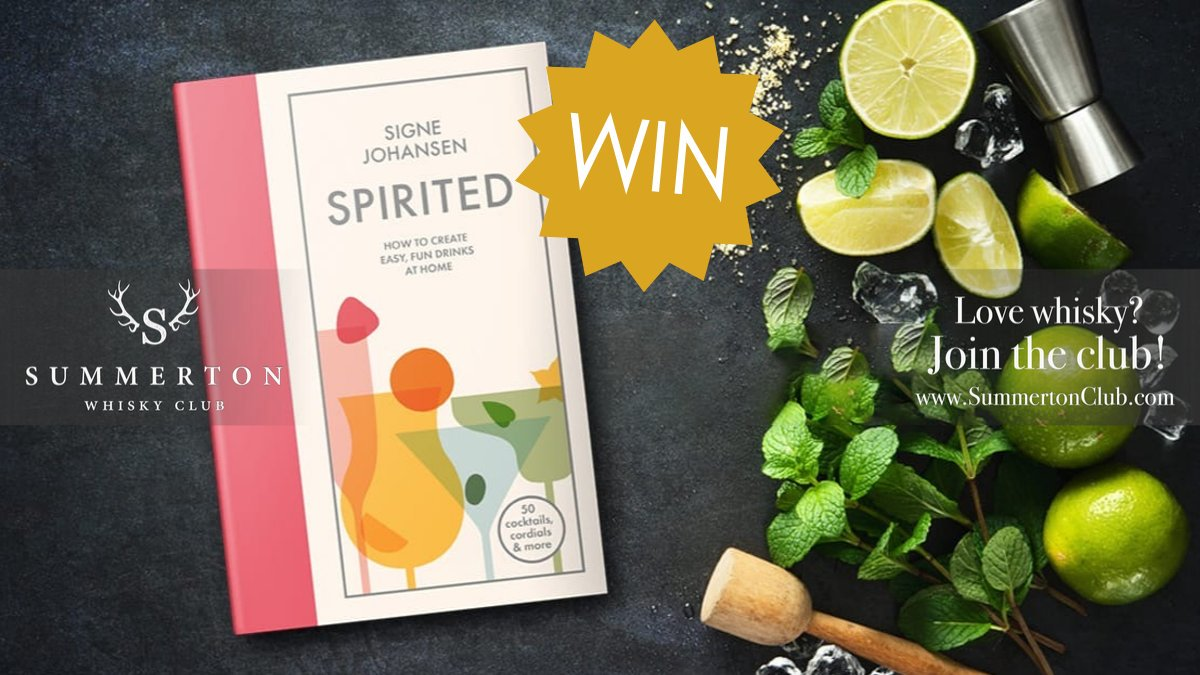 Today is the last day of our #competition to #win this awesome cocktail book, with over 50 amazing cocktails. Make sure you follow and RT #Summertoncomp for your chance to win. #giveaway #freebiefriday <br>http://pic.twitter.com/7i5Nca2qbW