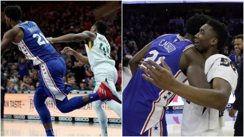 【影片】NBA球員垃圾話對決:威少Beverley針鋒相對,大帝成功「激怒」米切爾!