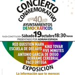 Image for the Tweet beginning: Un concierto y una exposición
