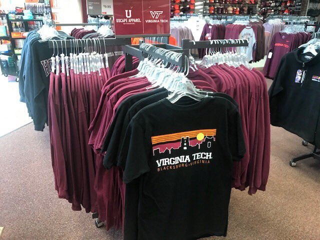 Virginia Tech Licensing On Twitter Like Virginiatech Uscapeapparel Us Too Check Them Out At The Main Campus Bookstore Today 11 18 From 12 8 Enter In To Win Gift Cards Stickers And A Backpack