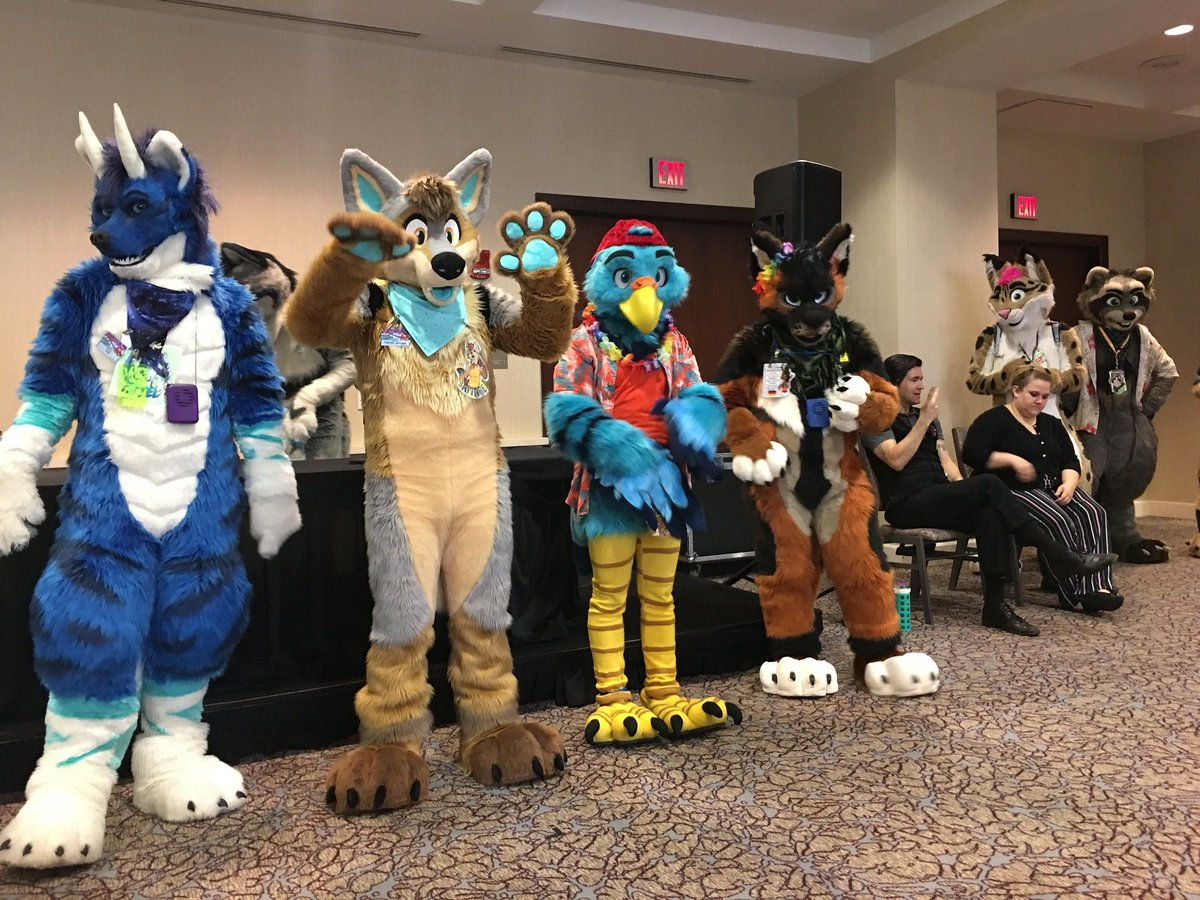 @anthrocon's photo on #fursuitfriday